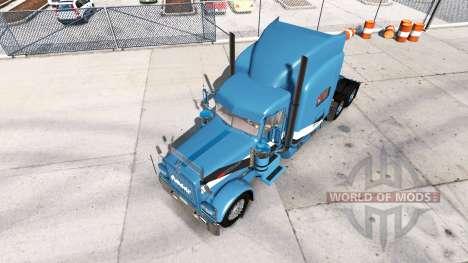 2Tone de la peau pour le camion Peterbilt 389 pour American Truck Simulator
