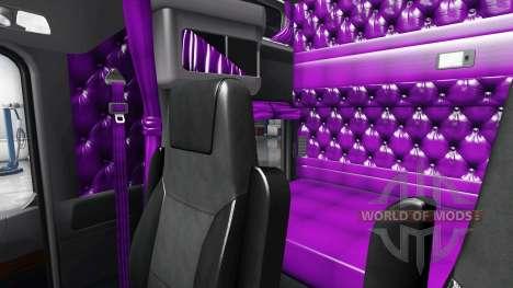 Lila interior-Kenworth W900 für American Truck Simulator