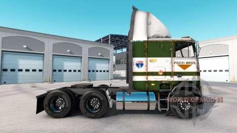 La peau POZZi pour camion Freightliner FLAG pour American Truck Simulator