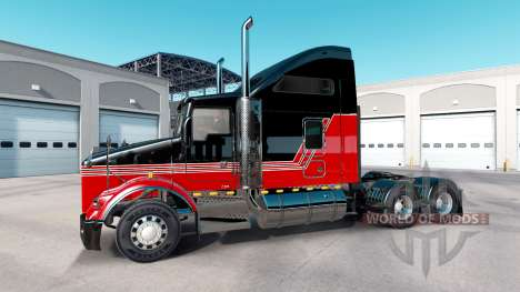 Haut Streifen v3.0 Traktor Kenworth T800 für American Truck Simulator