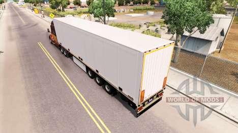 Semi-Remorque Schmitz Cargobull pour American Truck Simulator