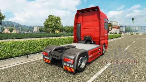 Omega Pilzno de la peau pour l'HOMME de camion pour Euro Truck Simulator 2