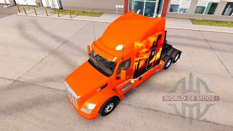 Cowboy skin für den truck Peterbilt für American Truck Simulator