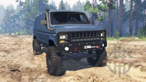 Ford E-350 1990 pour Spin Tires