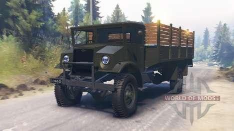 Chevrolet C60L 1942 für Spin Tires
