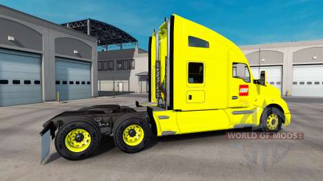 La peau sur LEGO camion Kenworth pour American Truck Simulator