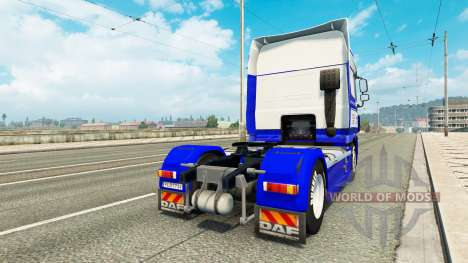 DastagirTrans skin for DAF truck pour Euro Truck Simulator 2