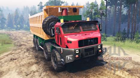 Oshkosh M1050 pour Spin Tires