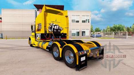 CHAT de la peau pour le camion Peterbilt 389 pour American Truck Simulator