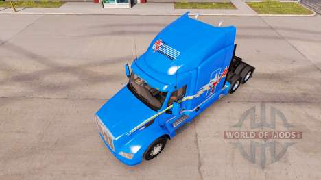 Haut MVT für LKW Peterbilt für American Truck Simulator