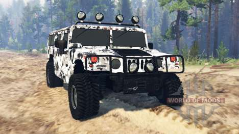 Hummer H1 pour Spin Tires
