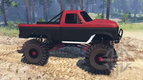 F350MT pour Spin Tires