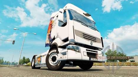 La peau de Koi pour tracteur Renault pour Euro Truck Simulator 2