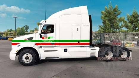 Haut Consildated Freightways für LKW Peterbilt für American Truck Simulator