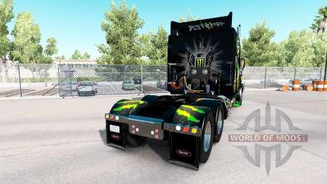 Monster Energy de la peau pour le camion Peterbi pour American Truck Simulator