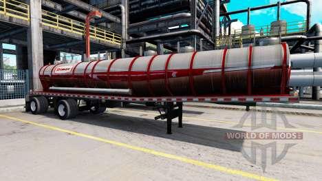 Sammlung von 60 skins für Trailer für American Truck Simulator