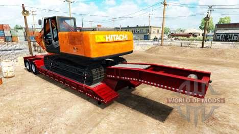 Semi-remorques avec des appareils de marques cél pour American Truck Simulator