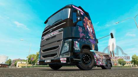 Monster High peau pour Volvo camion pour Euro Truck Simulator 2