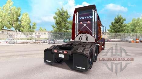 UPS skin für Volvo VNL 670 LKW für American Truck Simulator