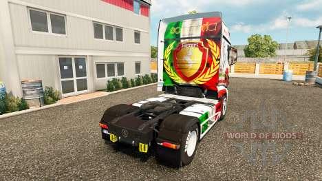 Ferrari skin für die Scania R700 truck für Euro Truck Simulator 2
