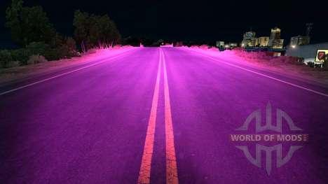 Violet xenons pour American Truck Simulator