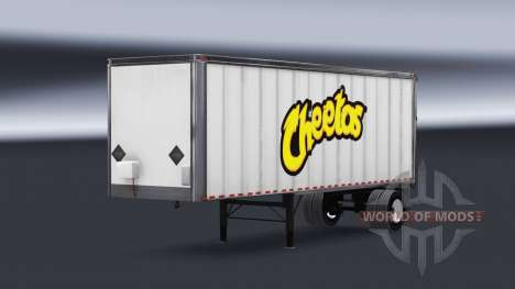 All-Metall-semi-Cheetos für American Truck Simulator