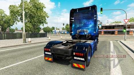 Coole Space-skin für die Scania LKW für Euro Truck Simulator 2