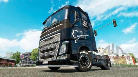 L'enregistrement de la Bague de la peau pour Vol pour Euro Truck Simulator 2