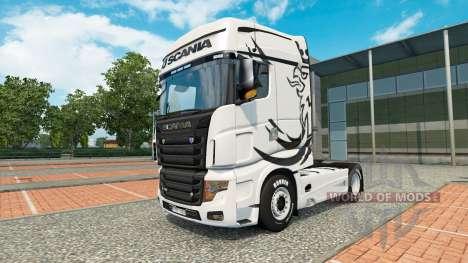 Une collection de peaux pour Scania camion R700 pour Euro Truck Simulator 2