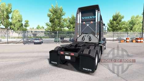 La peau sur Knight Refridgeration camion Volvo V pour American Truck Simulator