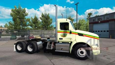 Reggae de la peau pour le camion Peterbilt pour American Truck Simulator