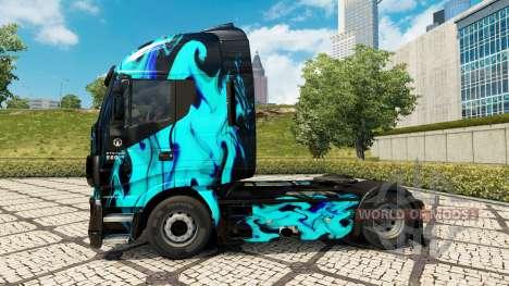 Haut, Grünen Rauch in die Zugmaschine Iveco für Euro Truck Simulator 2