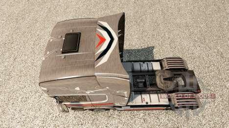 La peau Monstera pour Scania camion pour Euro Truck Simulator 2
