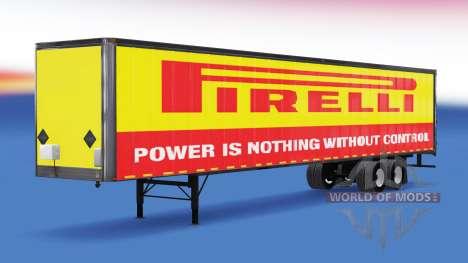De tous les métaux semi-Pirelli pour American Truck Simulator