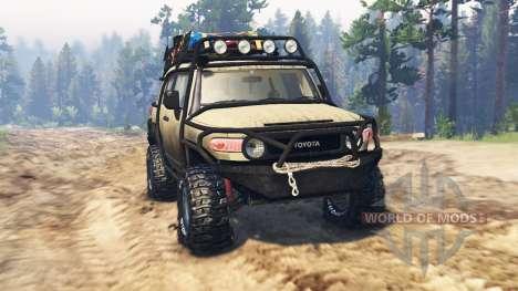 Toyota FJ Cruiser für Spin Tires