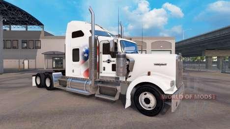 Haut Unabhängig von der LKW-Kenworth W900 für American Truck Simulator