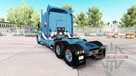 2Tone skin für den truck-Peterbilt 389 für American Truck Simulator