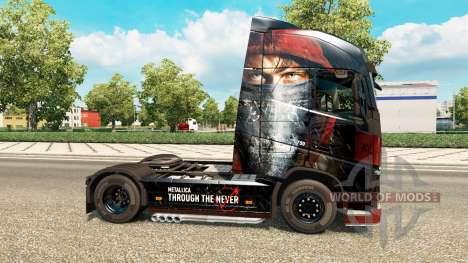 Haut Metallica für Volvo-LKW für Euro Truck Simulator 2