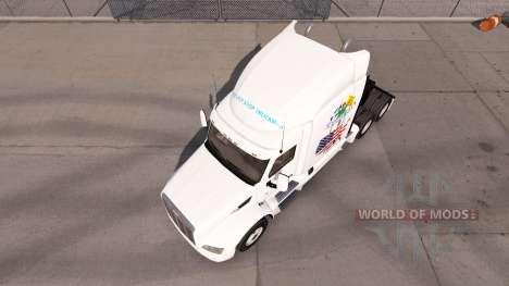 Schottland American skin für den truck Peterbilt für American Truck Simulator