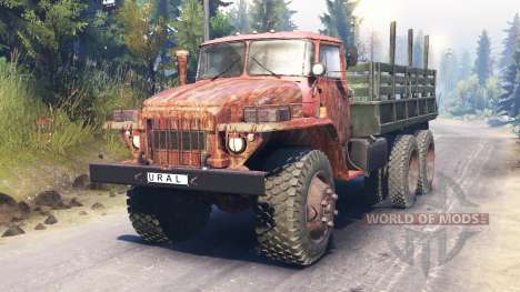 Ural-375 pour Spin Tires