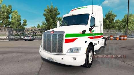 La peau Consildated Freightways pour camion Pete pour American Truck Simulator
