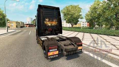La peau Alter Bridge chez Volvo trucks pour Euro Truck Simulator 2