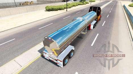 Semi-remorque citerne pour American Truck Simulator