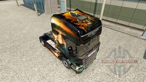 Starcraft 2 de la peau pour Scania camion pour Euro Truck Simulator 2