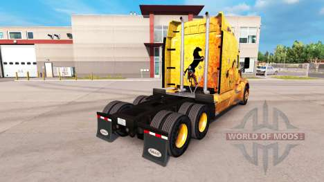 L'ouest de la peau pour le camion Peterbilt pour American Truck Simulator