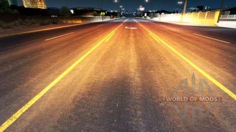 Golden-rotes Licht für American Truck Simulator
