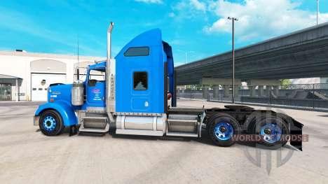 Haut auf Carlile Kenworth W900 Zugmaschine für American Truck Simulator
