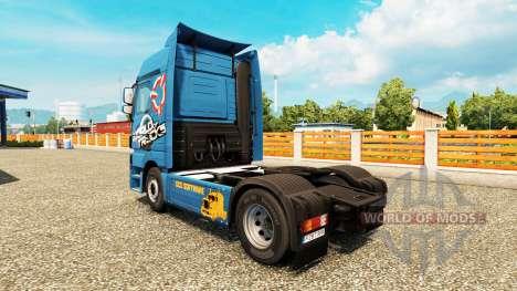Haut-World Of Trucks-LKW für Euro Truck Simulator 2