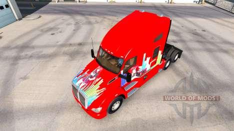 Haut Rias Gremory auf einem Kenworth-Zugmaschine für American Truck Simulator