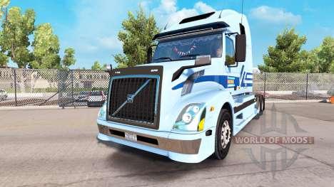 Haut für Werner Enterprises Sattelzugmaschine Vo für American Truck Simulator